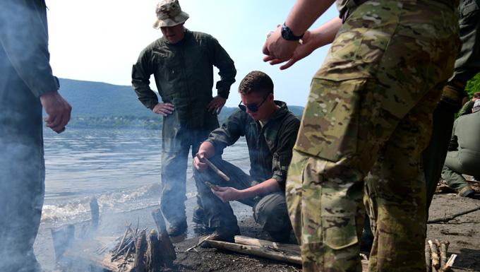 105th AW Airmen Conduct Annual SERE Training
