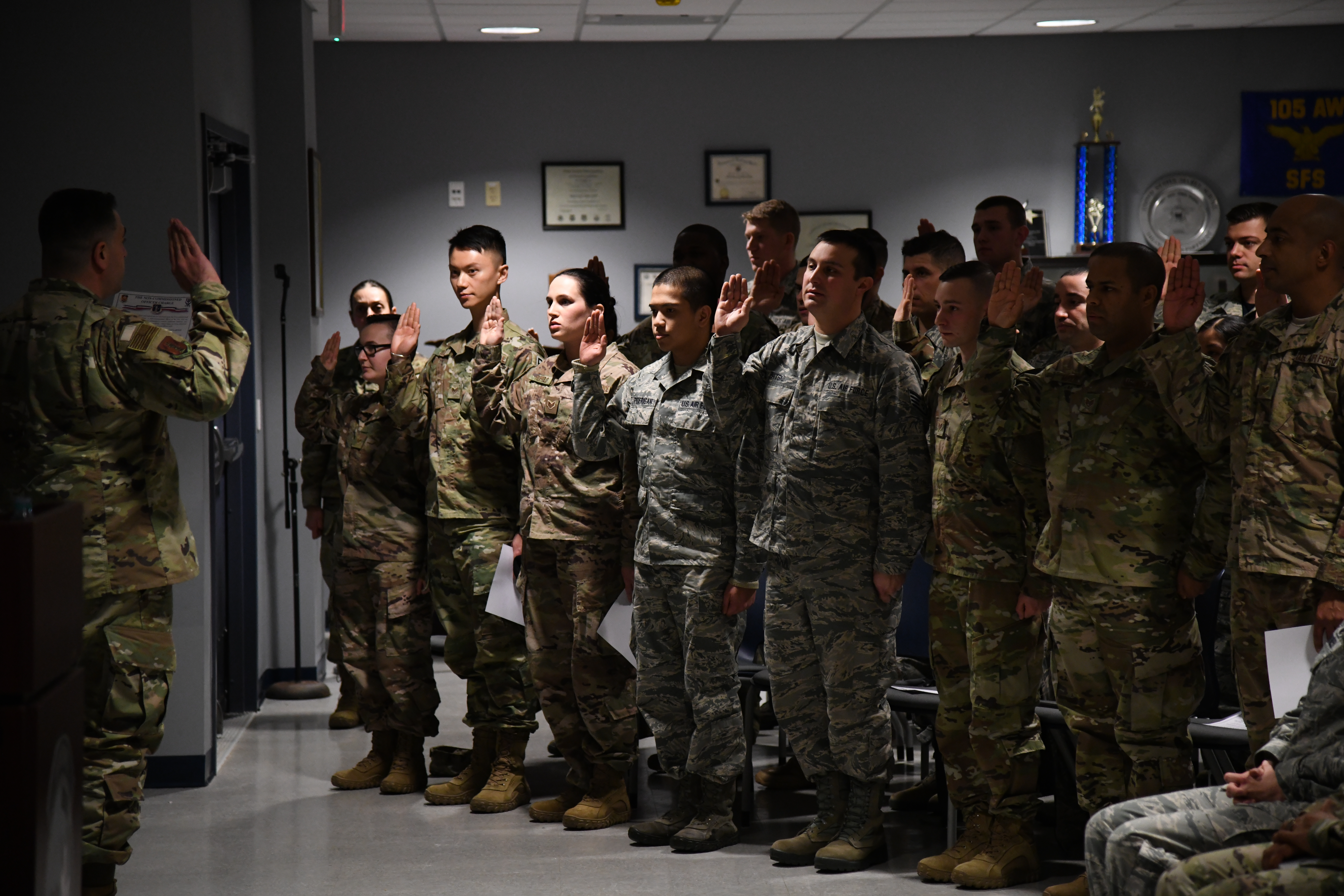 105th Airlift Wing Hosts 5th Annual NCO Induction Ceremony